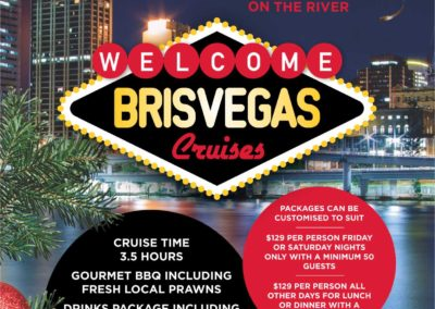 CHRISTMAS PARTIES 2016 Brisvegas Cruises
