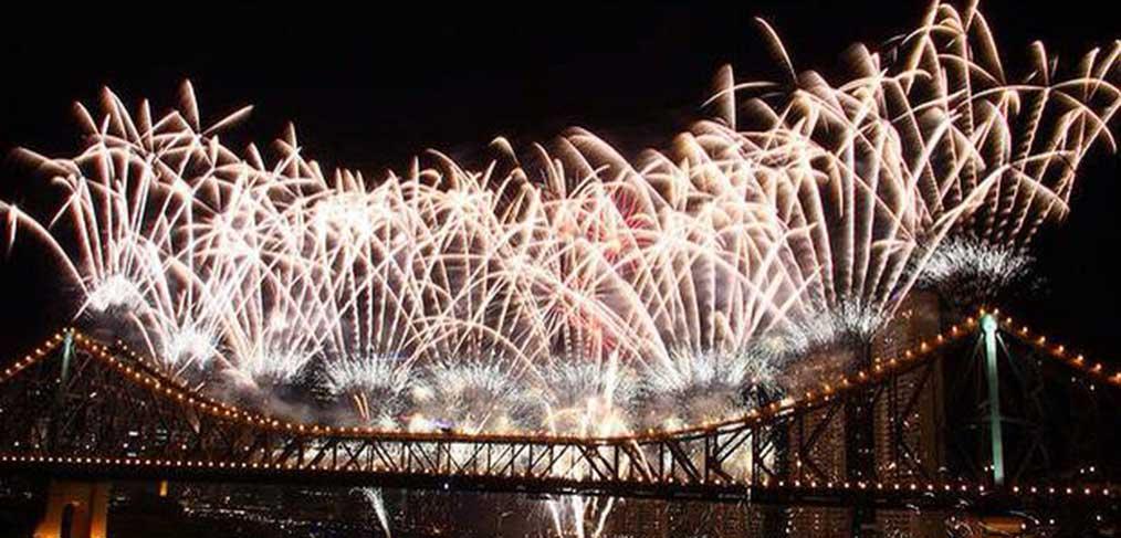 New Year's Eve Fireworks Brisbane